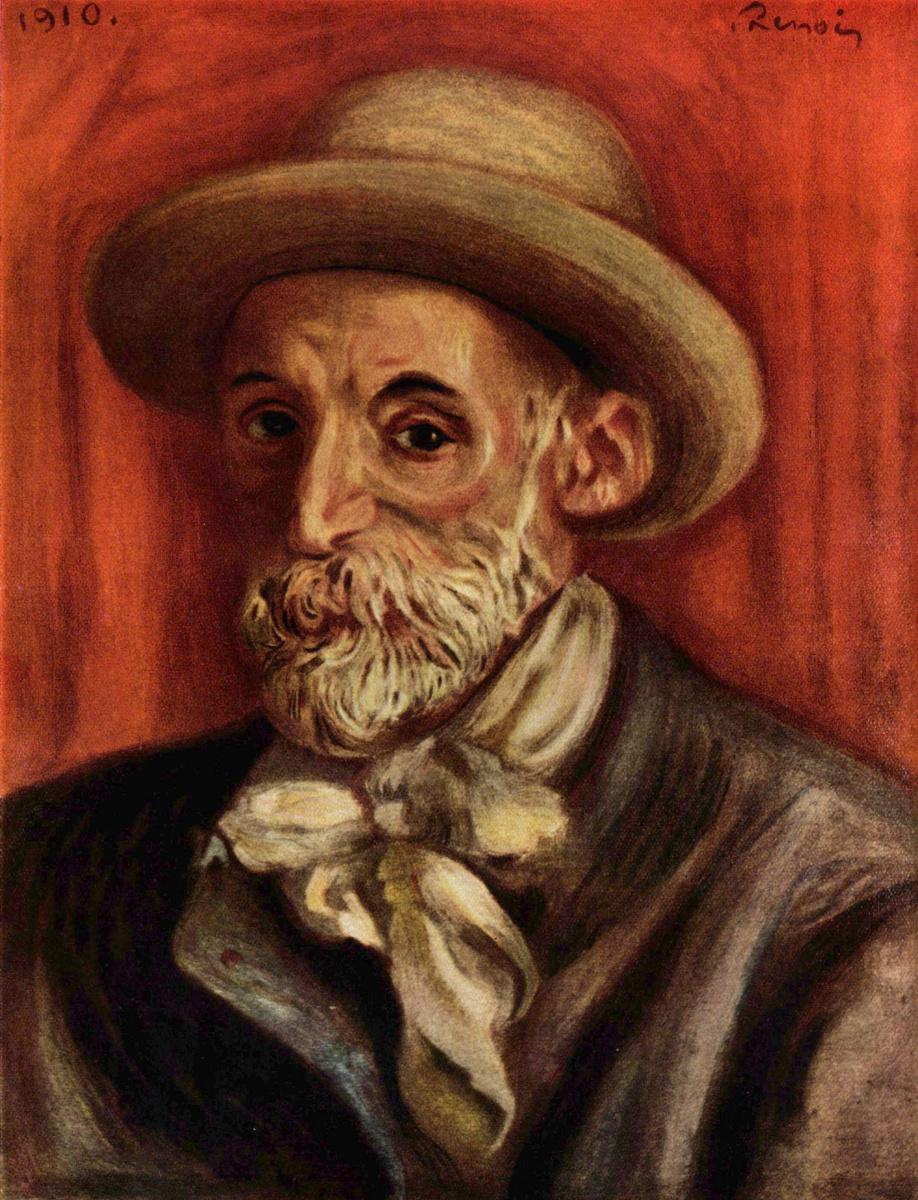 Pierre Auguste Renoir. Self-portrait