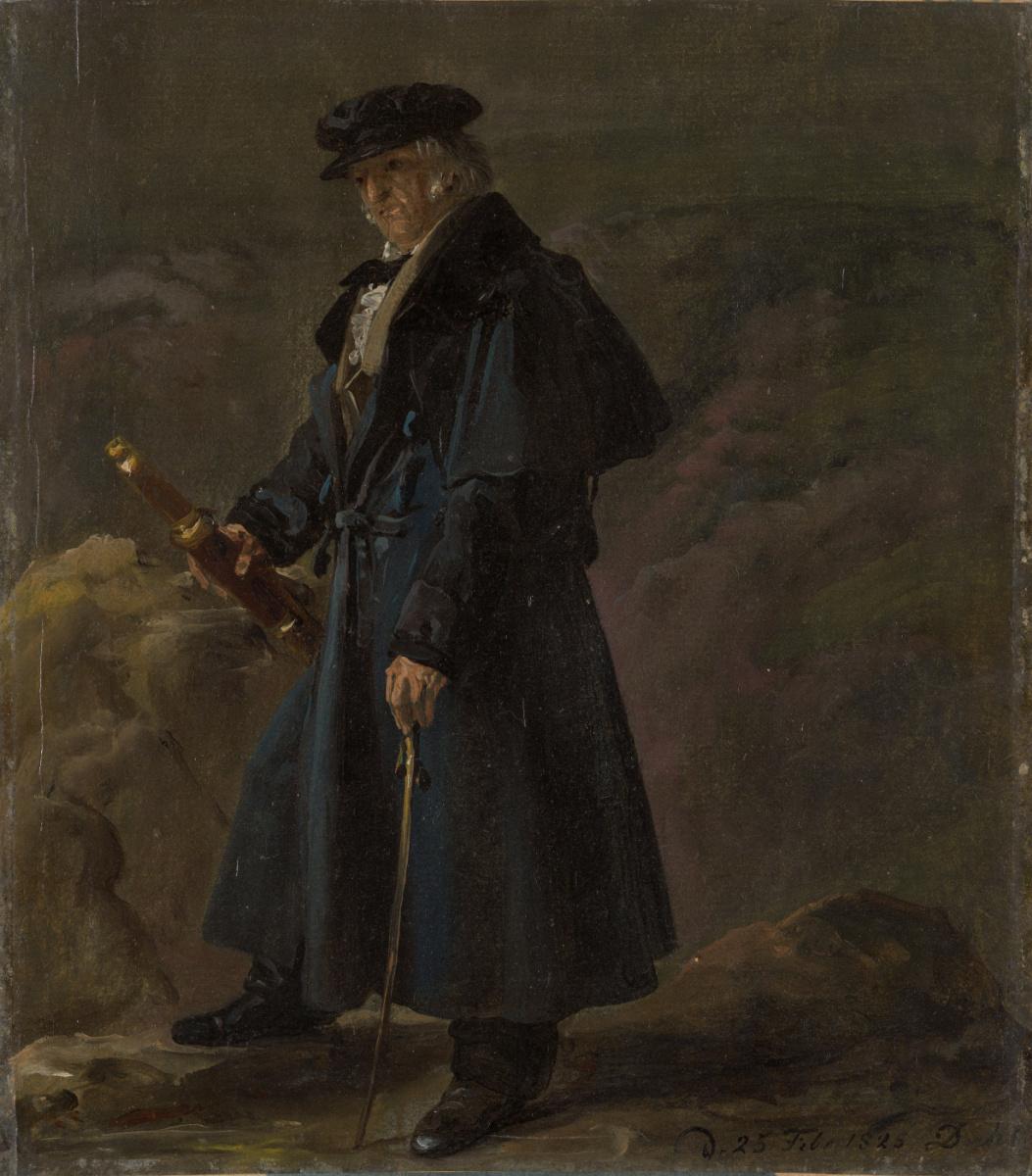 Johan Christian Klausen Dahl. Польский генерал Кароль Князевич
