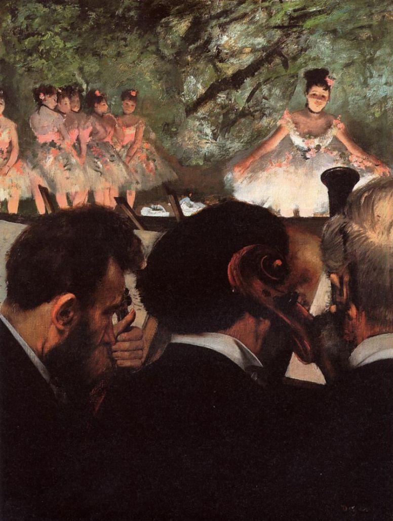 Эдгар Дега. Балет