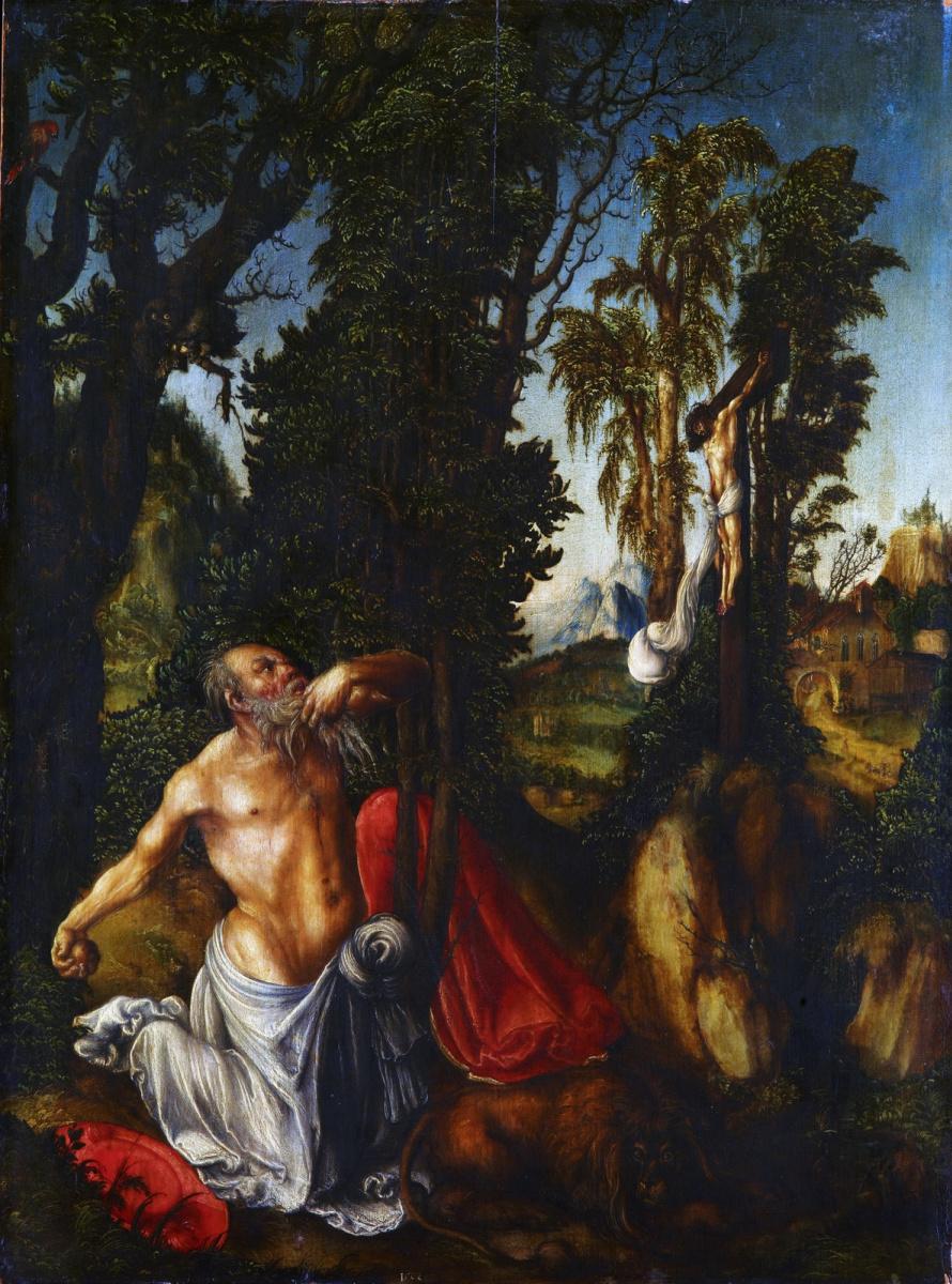 Лукас Кранах Старший. Покаяние святого Иеронима