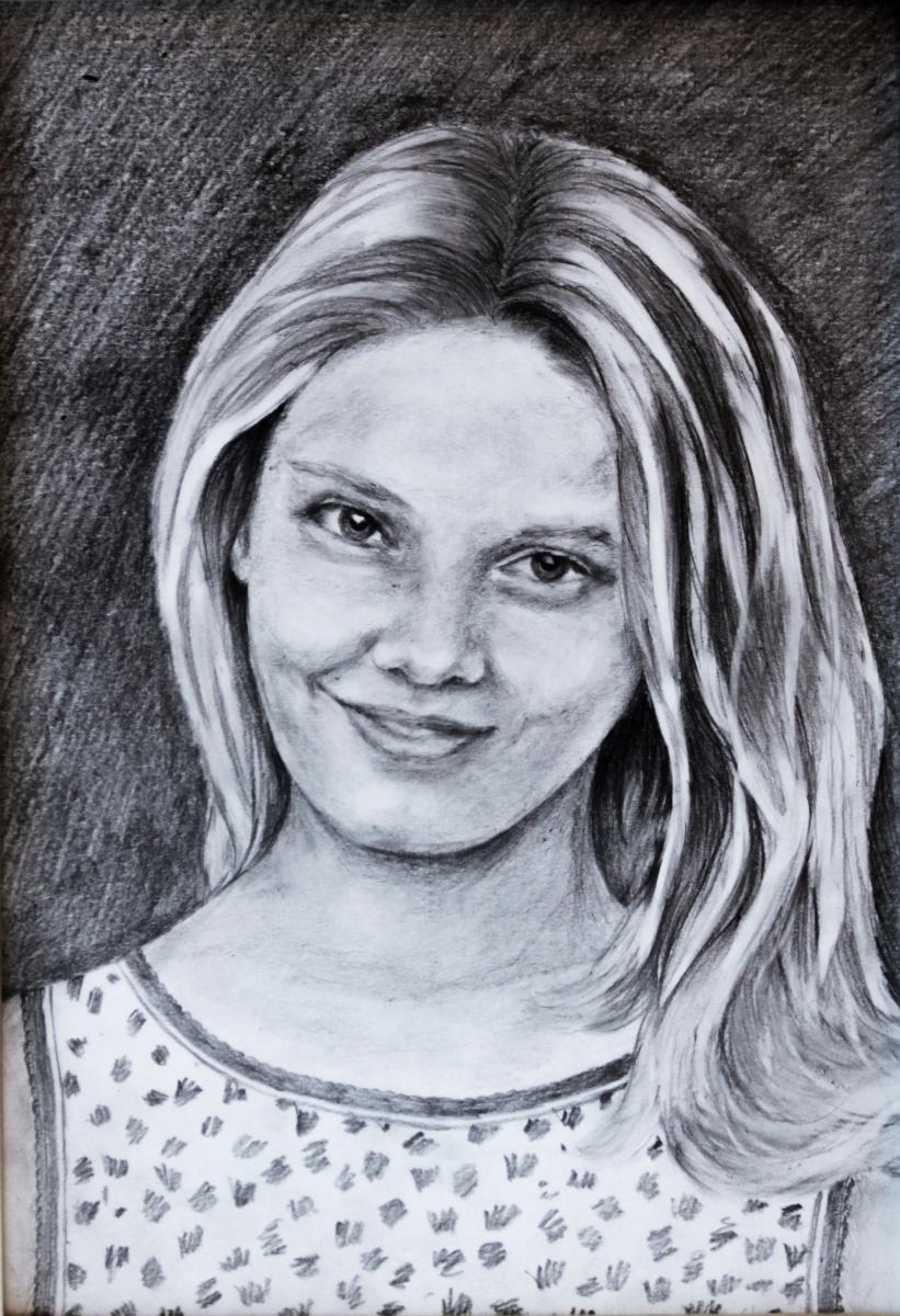 Elena Sh. Портрет Марины