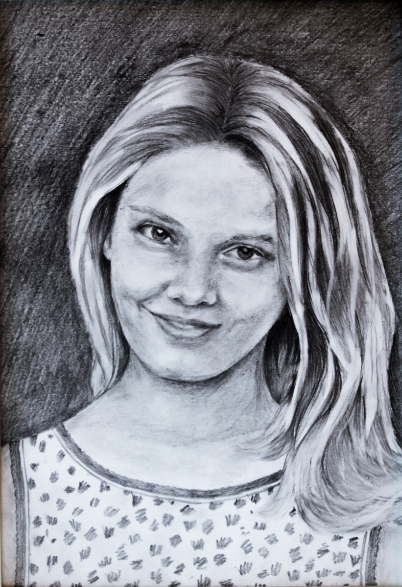 Elena Sh. Portrait Of Marina