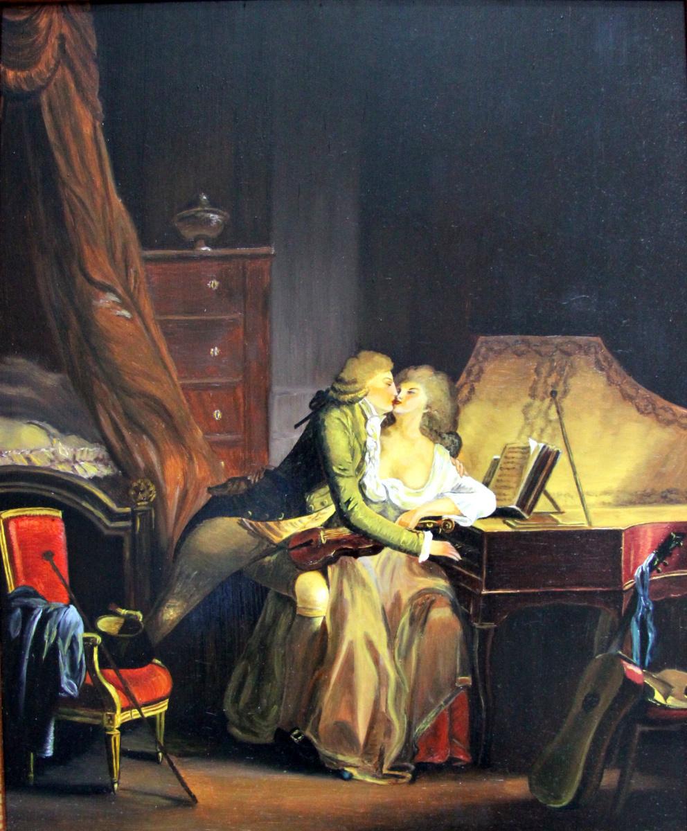 "Lyudmila Nikolaevna Yevtushenko. ""Prelude"", Copy of painting by Louis Leopold Boilly"