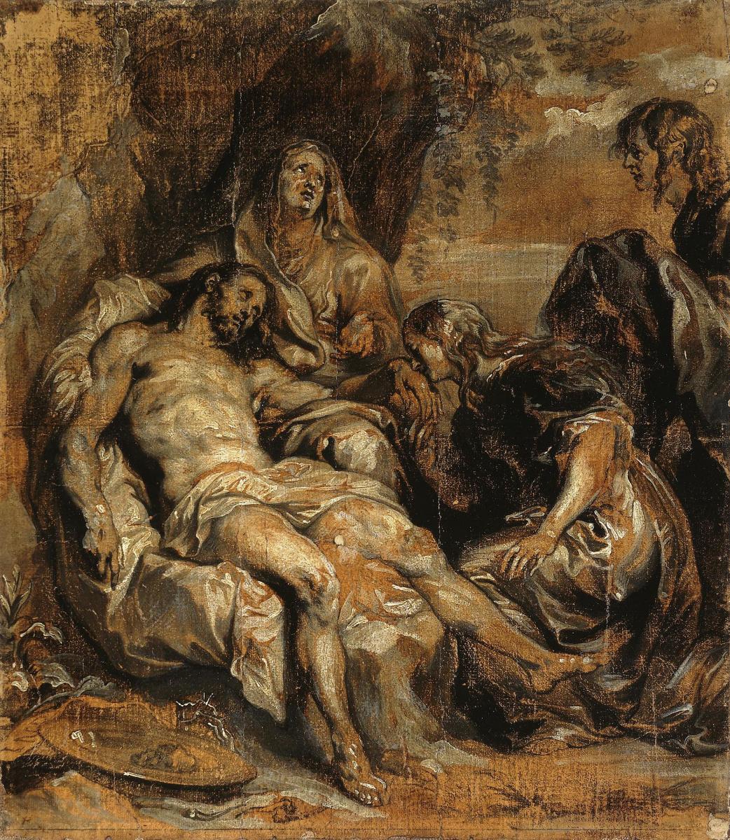 Anthony van Dyck. Lamentation Of Christ