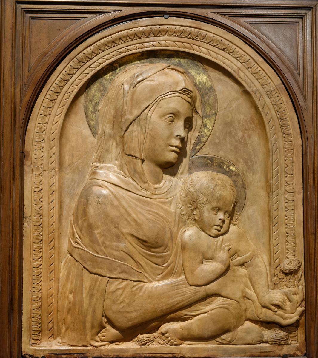 Donato di Niccolo di Betto Bardi (Donatello). Madonna and Child