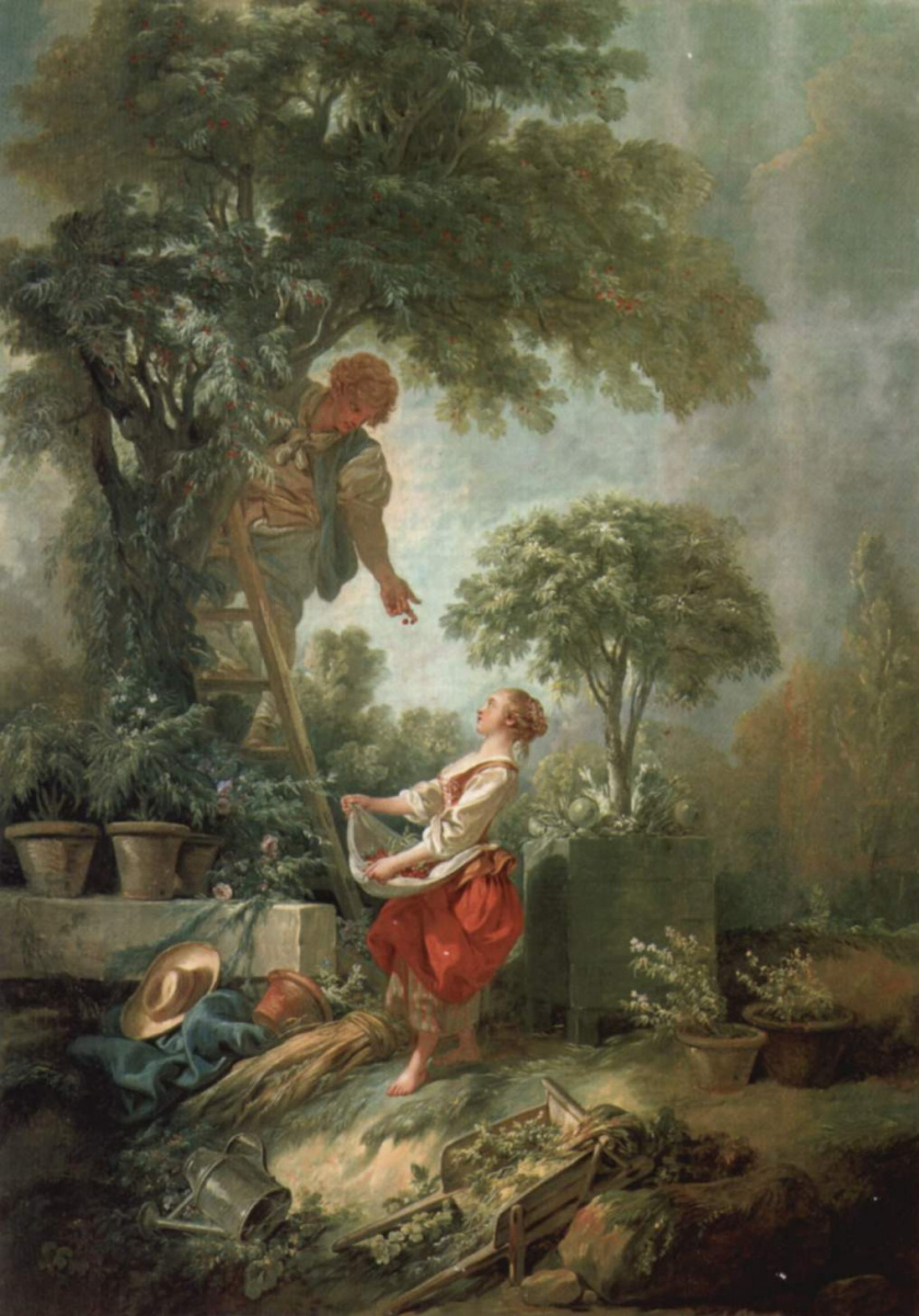 Francois Boucher. Collectors cherry