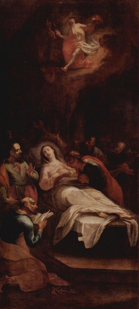 Микеланджело Унтербергер. Смерть Марии