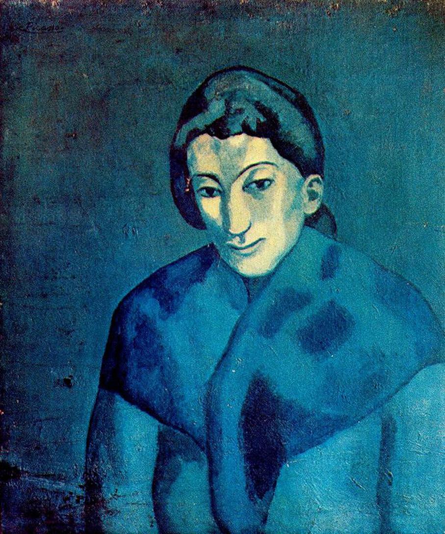 Пабло Пикассо. Женщина в шали