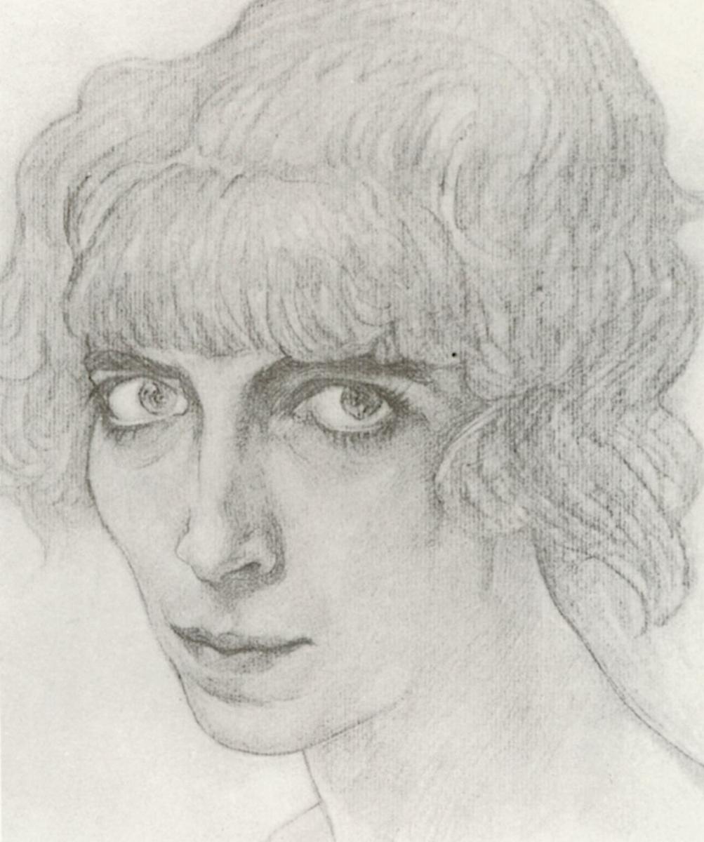 Lev Samoilovich Bakst (Leon Bakst). Portrait of a dancer M. Casati