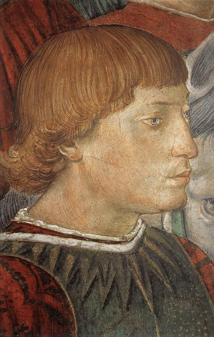 Беноццо Гоццоли. Сиджизмондо Пандольфо Малатеста (фрагмент)