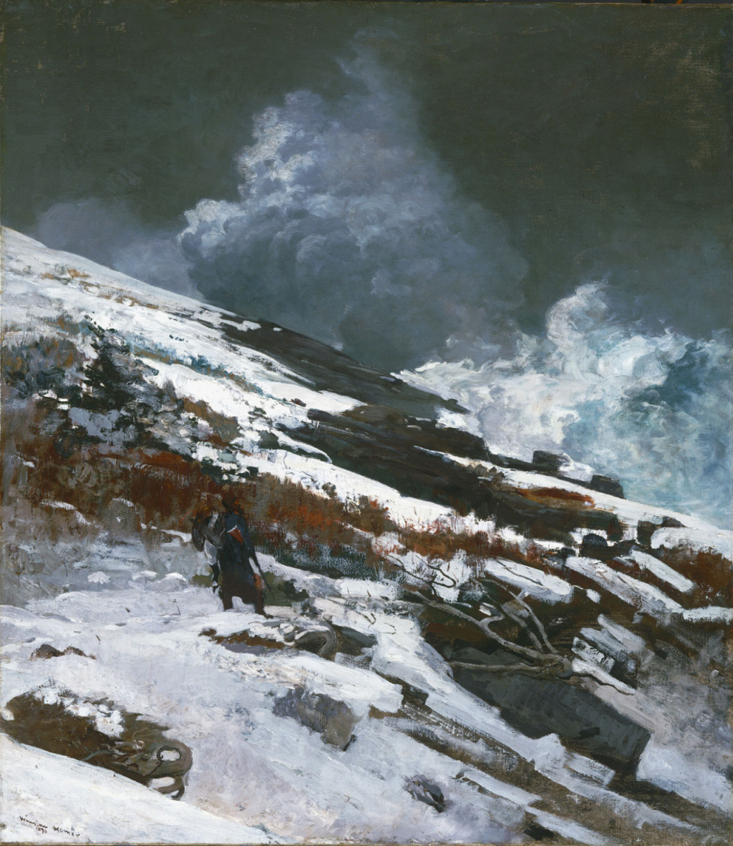 Winslow Homer. Winter on the coast
