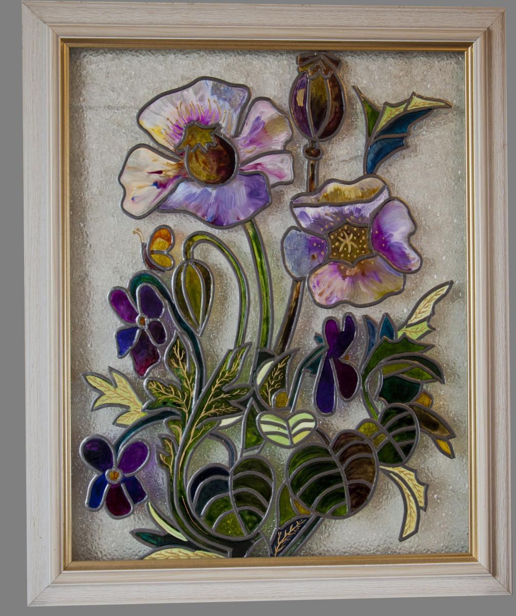Galina Shelenina. Violet opium