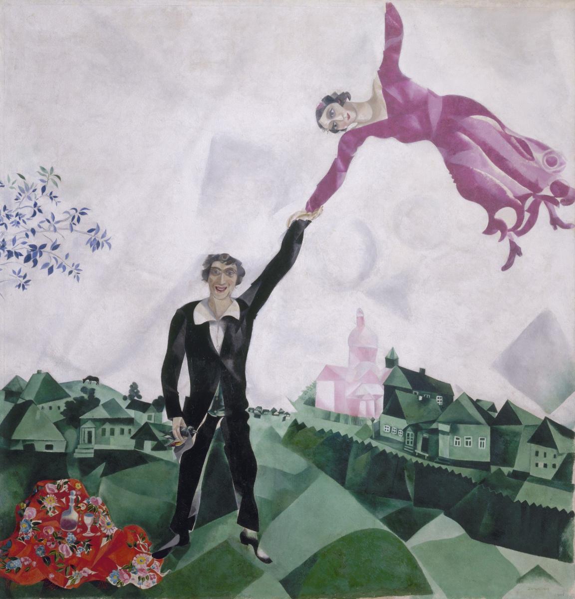 Marc Chagall. Walk
