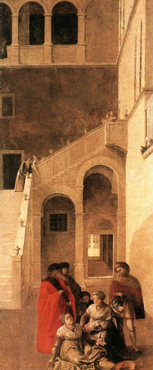 Диана Бенедетто. Чудо о реликвии Святого Креста