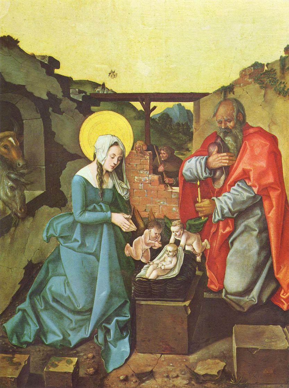 Ханс Бальдунг. Рождество