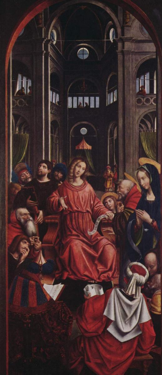 Дефенденте Феррари. Двенадцатилетний Христос в храме