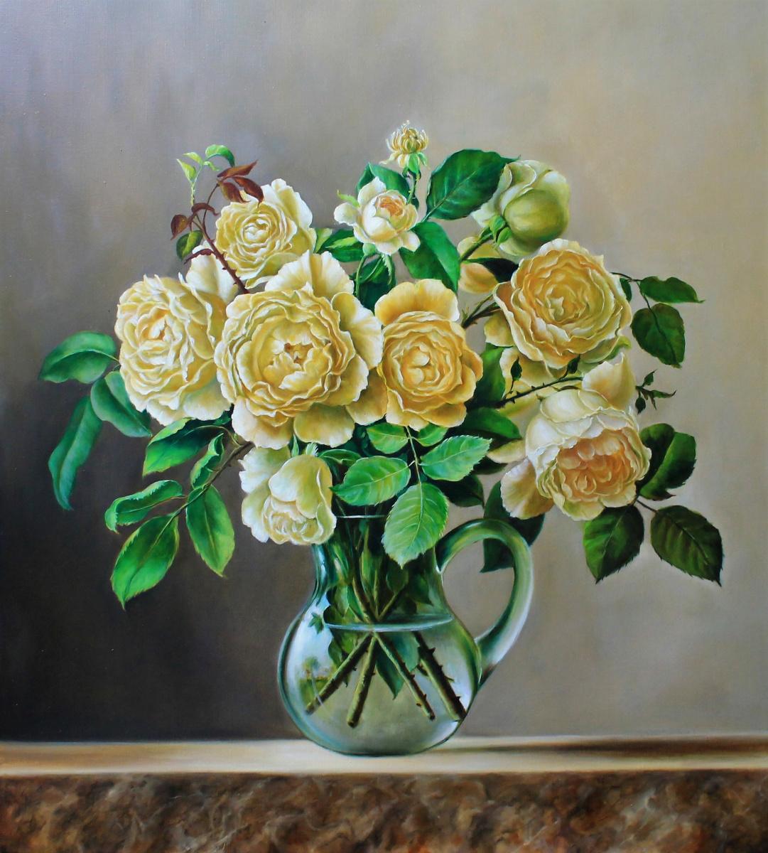 Екатерина Саевская. Белые розы