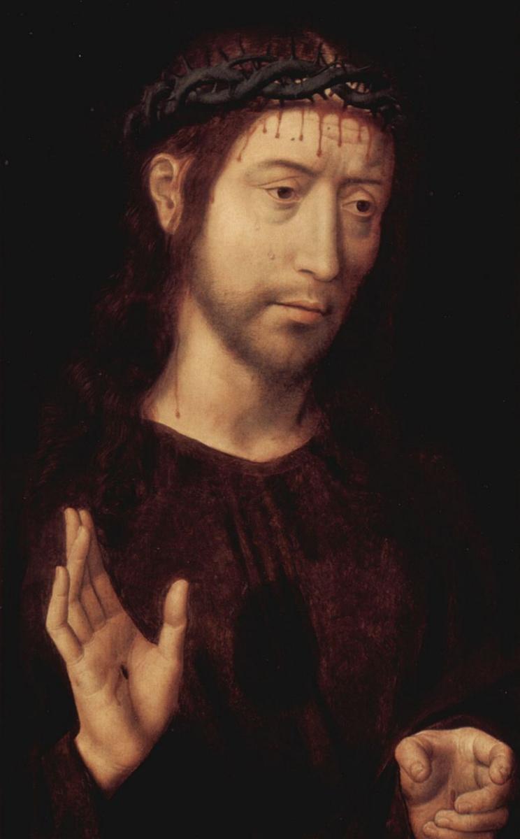 Ганс Мемлинг. Христос с терновым венцом