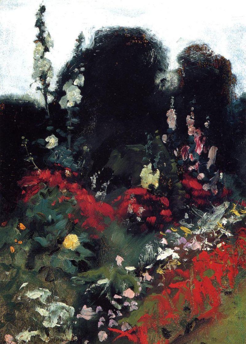 Джон Сингер Сарджент. Уголок в саду