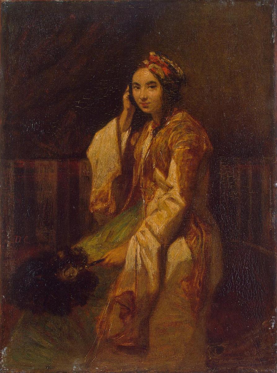 Александр-Габриель Декан. Женщина в восточном костюме