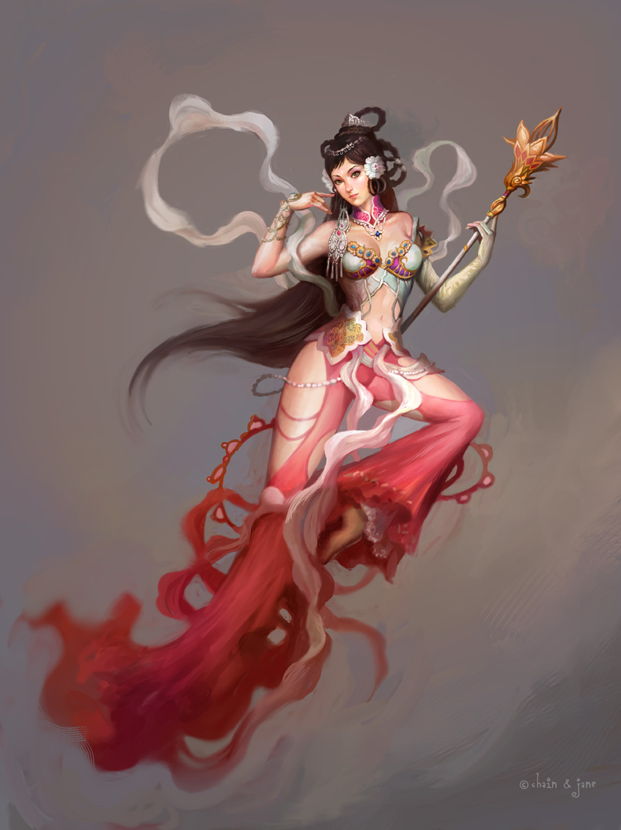 Джинсонг Чен. Красота