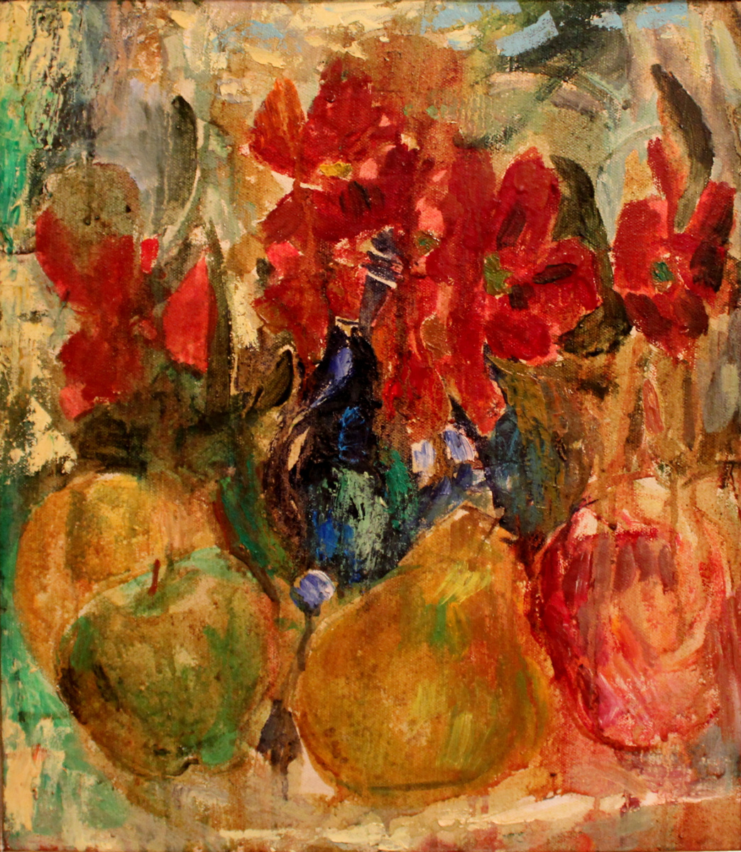 Victor Fedorovich Chudin. Flowers and fruits