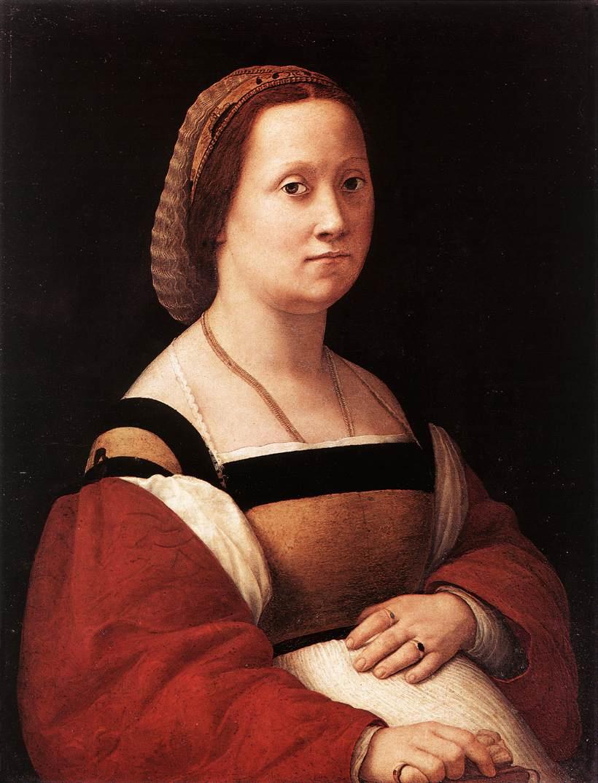 Рафаэль Санти. Женский портрет