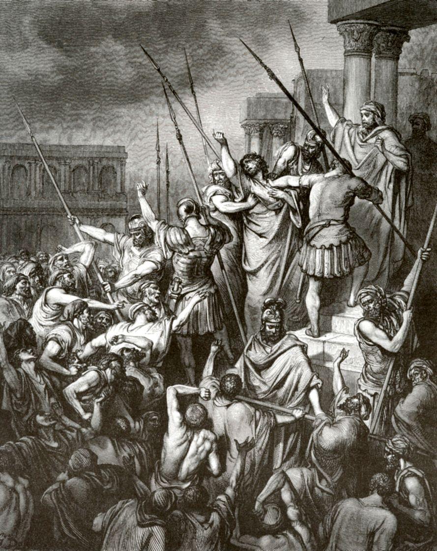Поль Гюстав Доре. Апостол Павел в Иерусалиме