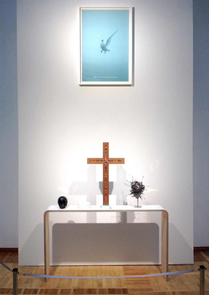 Damien Hirst. The altar