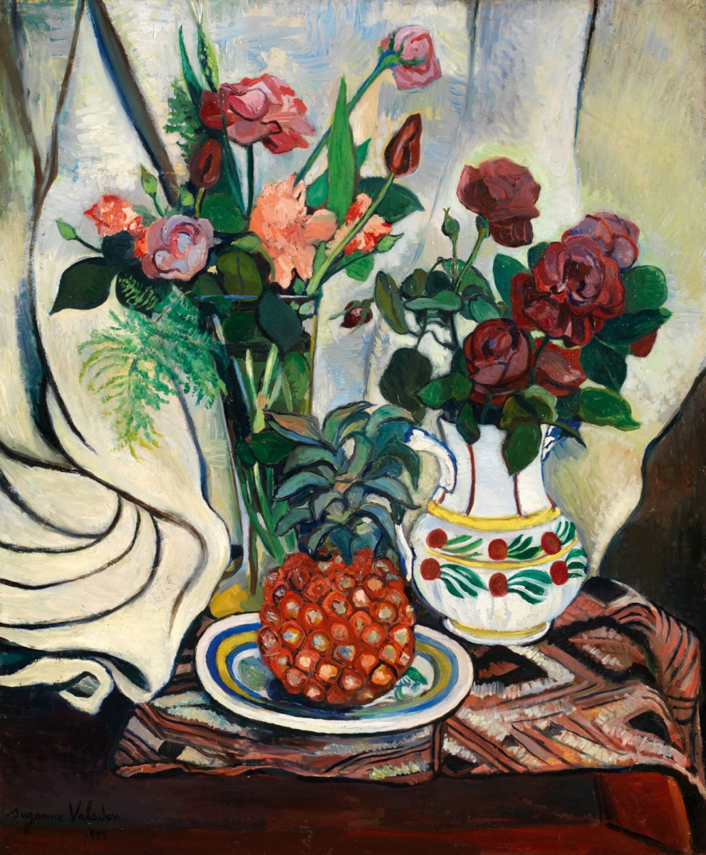 Suzanne Valadon. Still life with pineapple