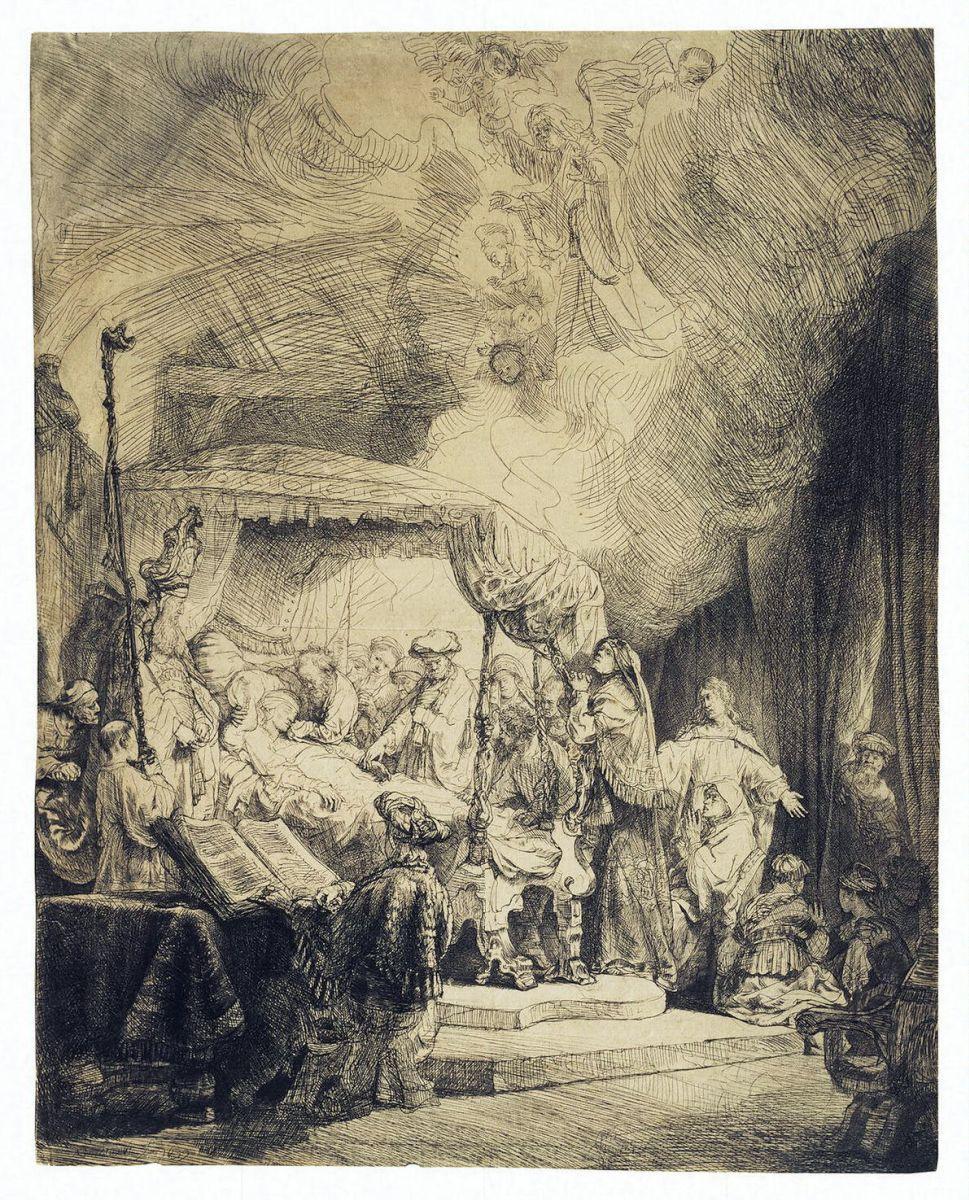 Рембрандт Харменс ван Рейн. Смерть Марии