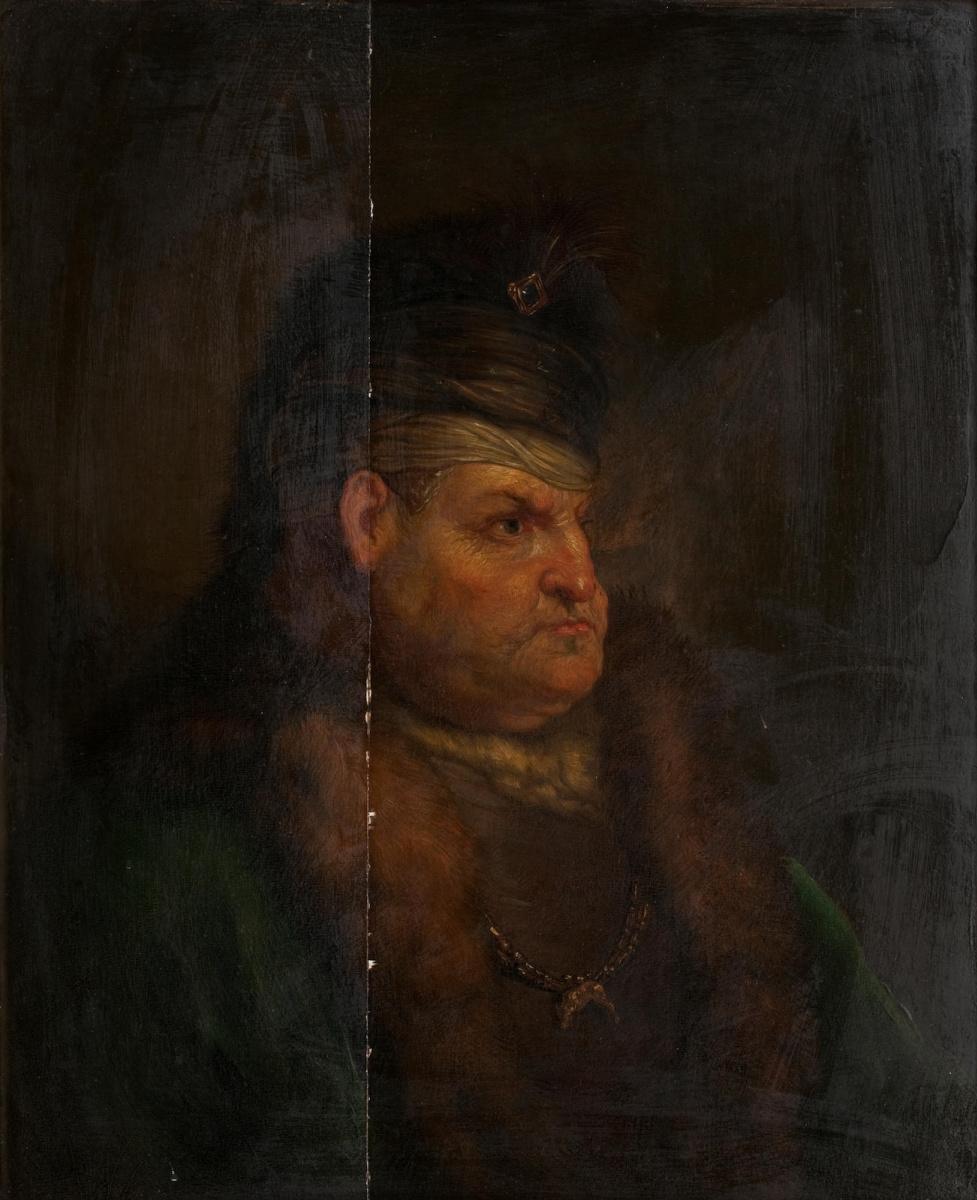 Ян Ливенс. Портрет господина в восточном костюме