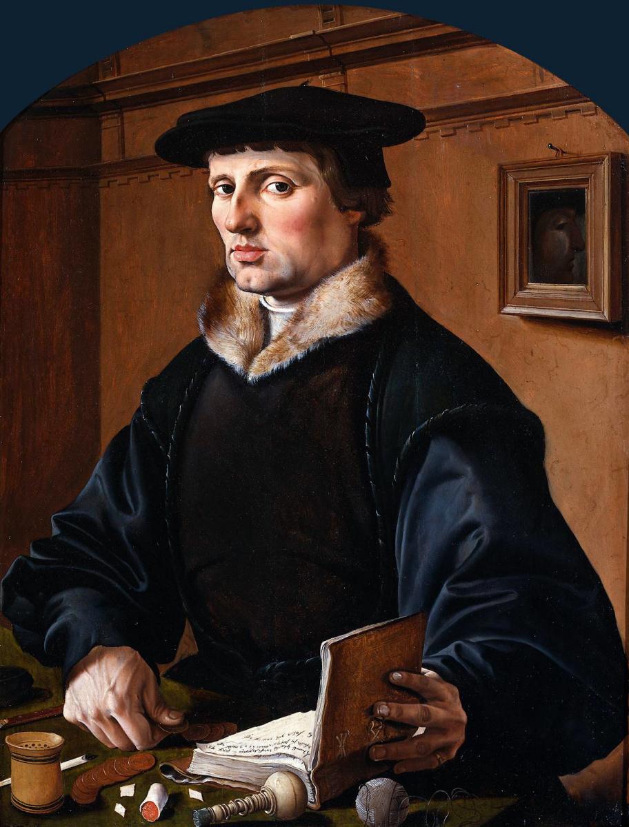 Мартен ван Хемскерк. Портрет мужчины