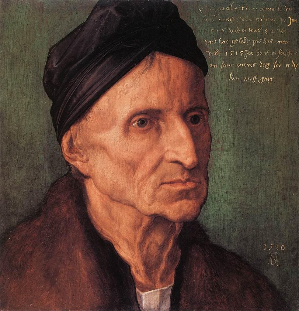 Albrecht Dürer. Portrait Of Michael Wohlgemuth