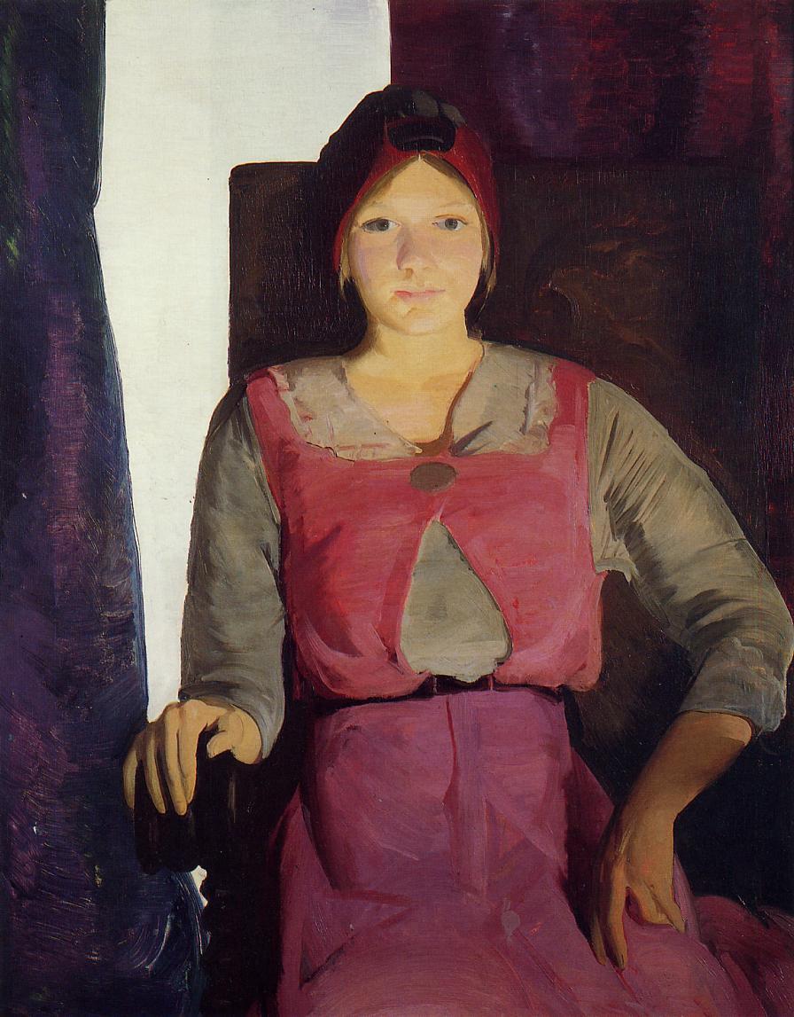 George Wesley Bellows. Geraldine Lee