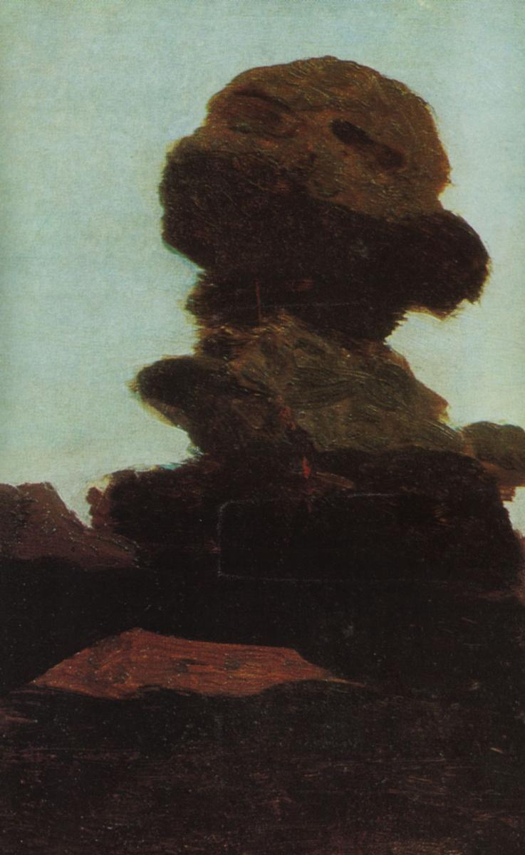 Архип Иванович Куинджи. Дерево на фоне вечернего неба