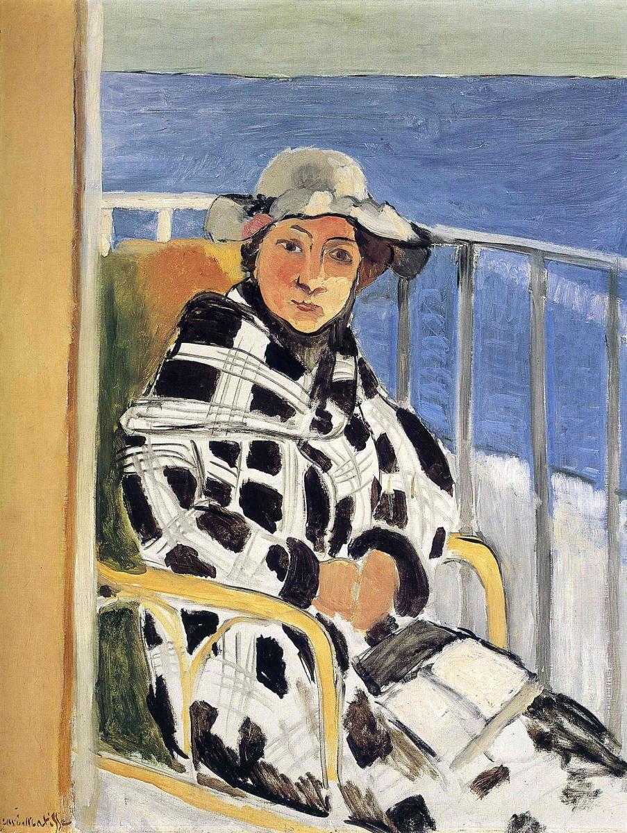 Анри Матисс. Девушка на балконе
