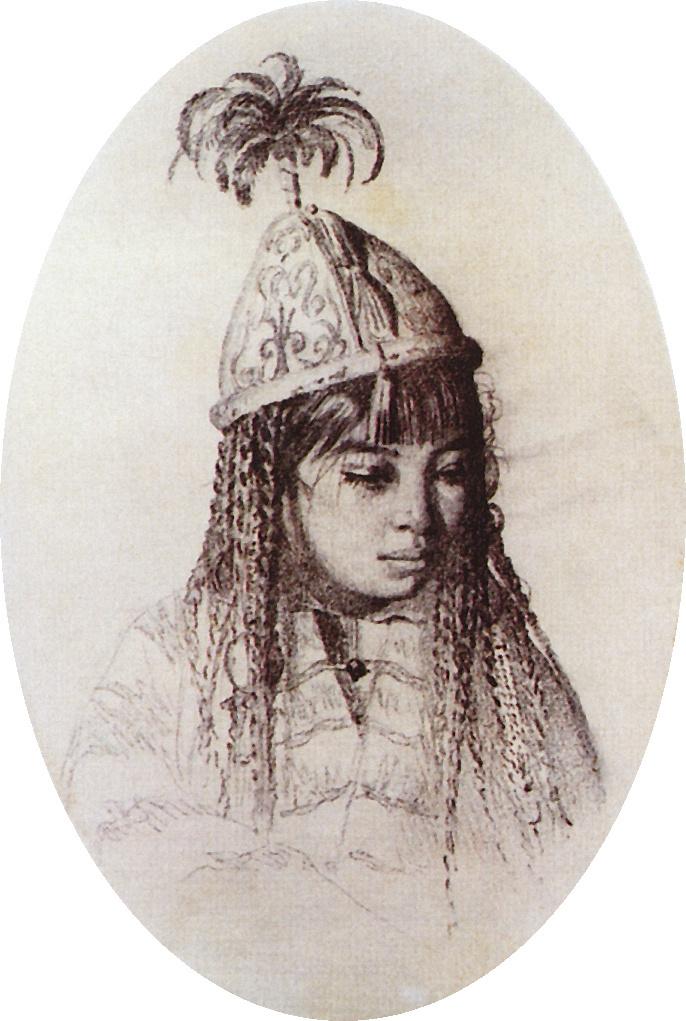 Vasily Vereshchagin. Kyrgyz girl
