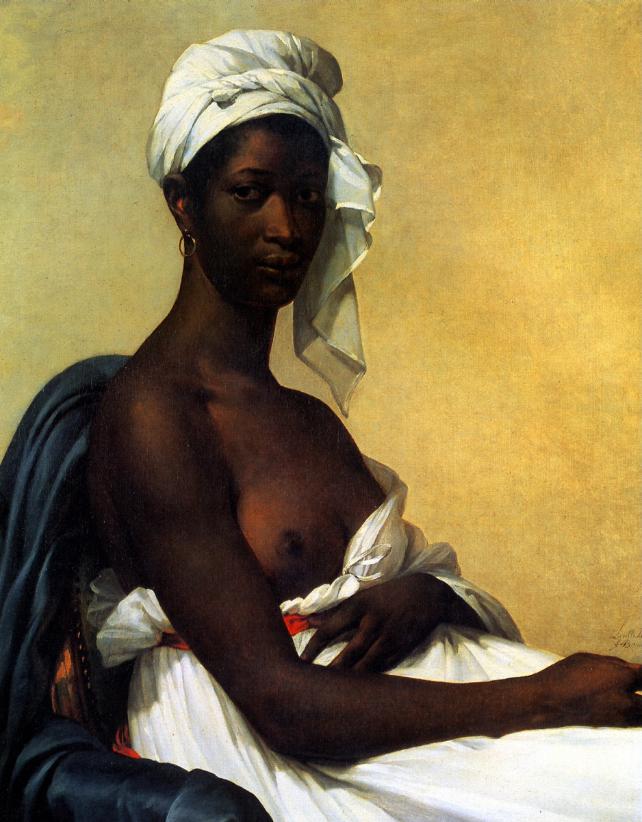 Мари Гийемин Бенуа. Портрет негритянки