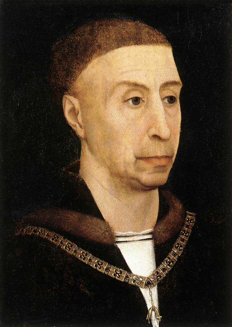 Rogier van der Weyden. Portrait Of Philip The Good