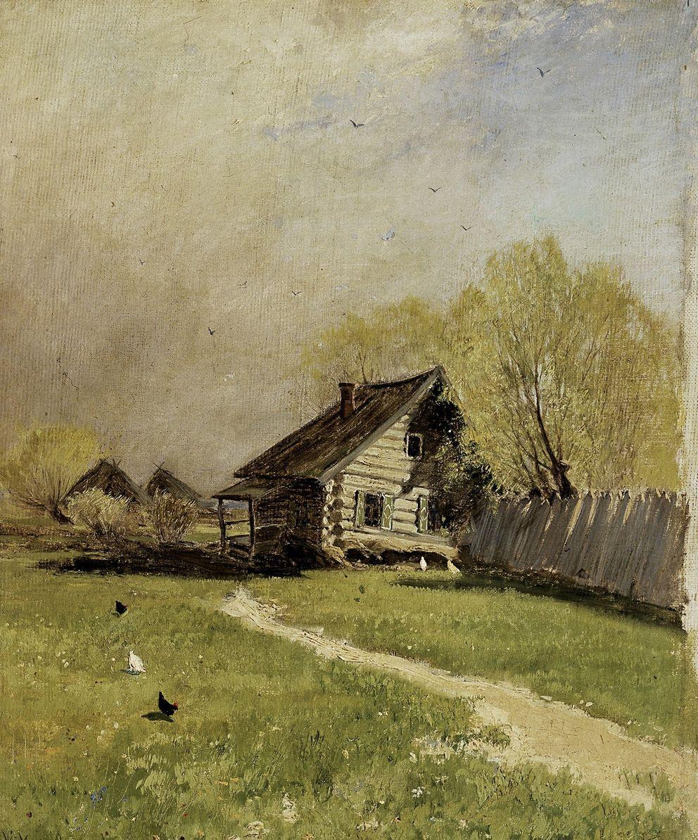 Константин Алексеевич Коровин. Ранняя весна