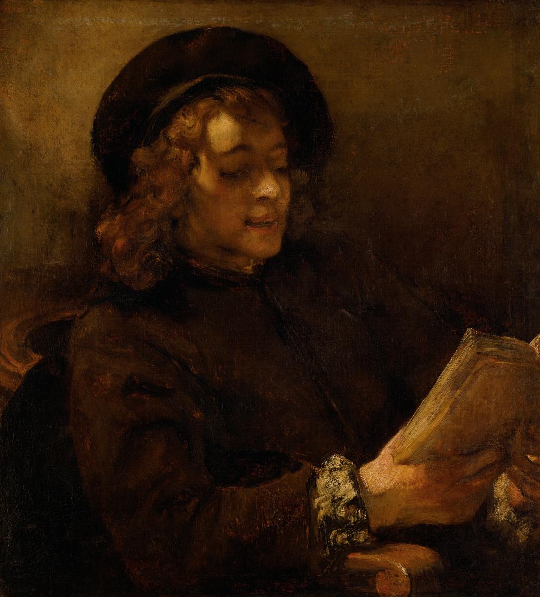 Rembrandt Harmenszoon van Rijn. Reading Titus