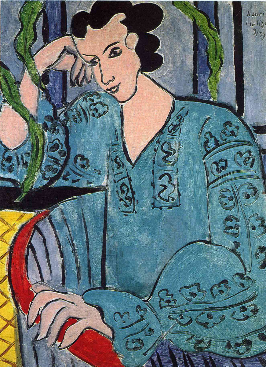 Анри Матисс. Румынская зеленая блузка