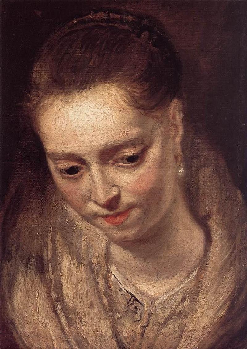 Питер Пауль Рубенс. Женский портрет