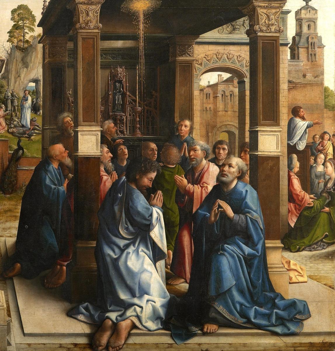 The altar of saints Thomas and Matthew