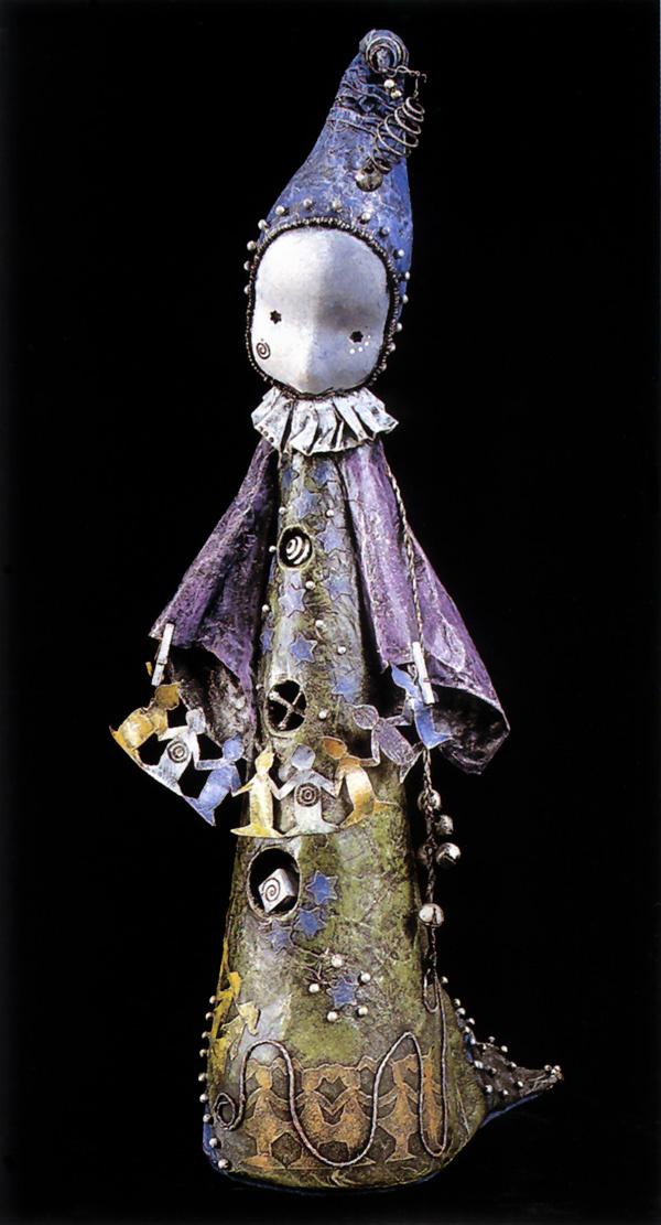 Lisa Snellings. Paper doll