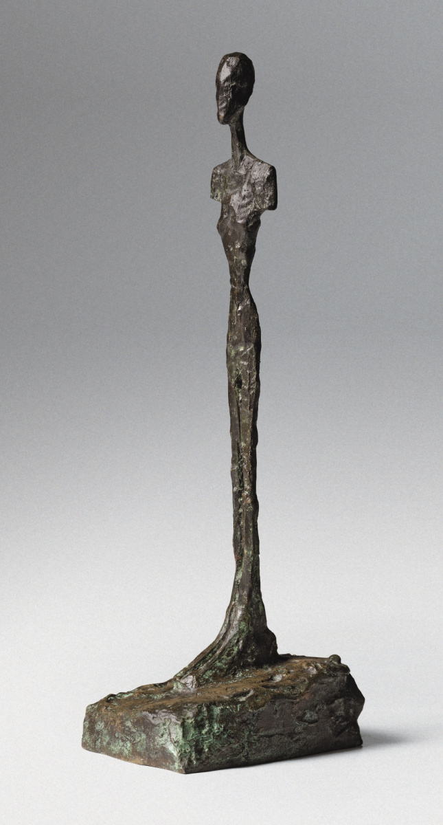 standing woman with no arms by alberto giacometti history analysis
