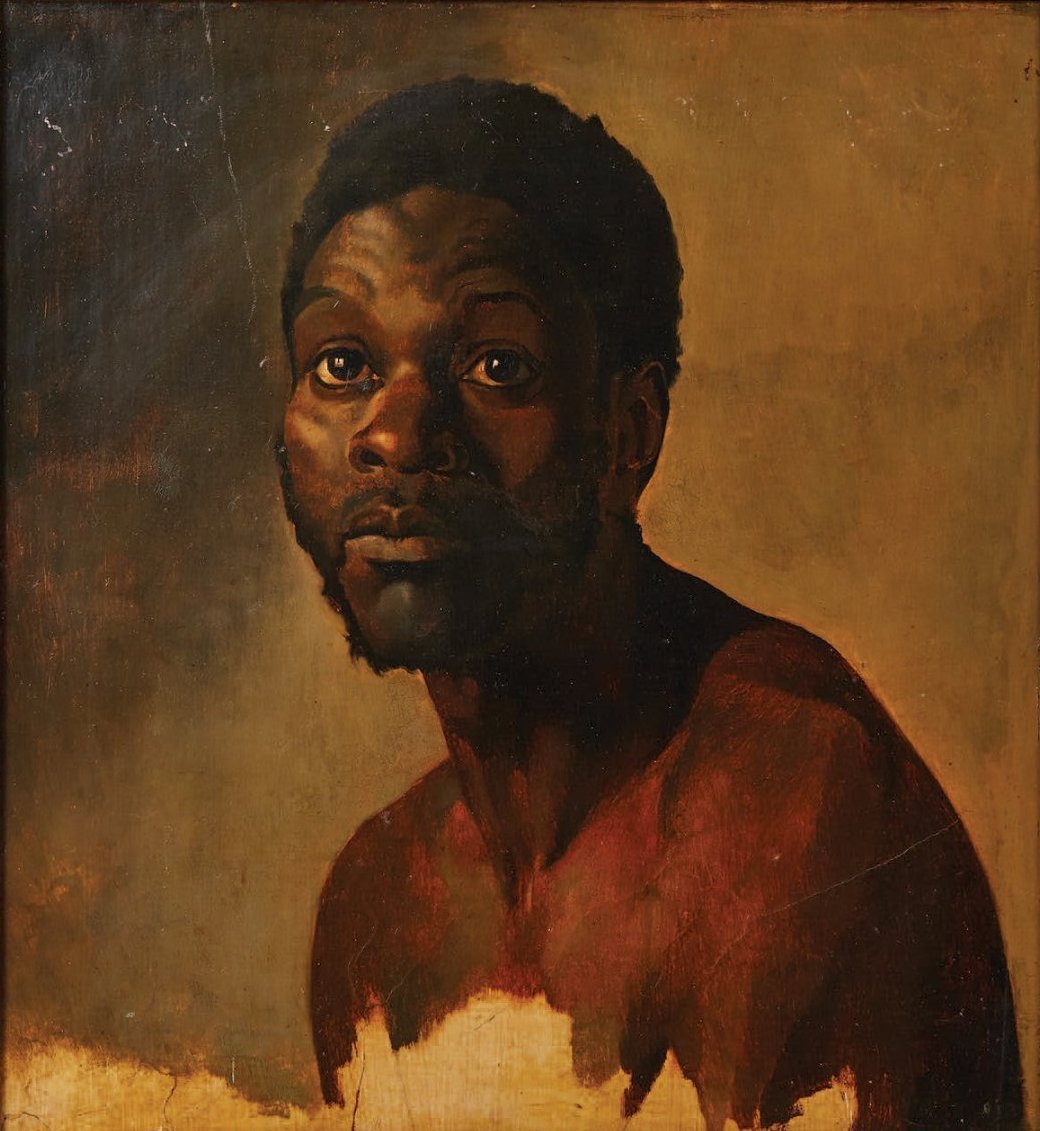 Théodore Géricault. Portrait of a black man