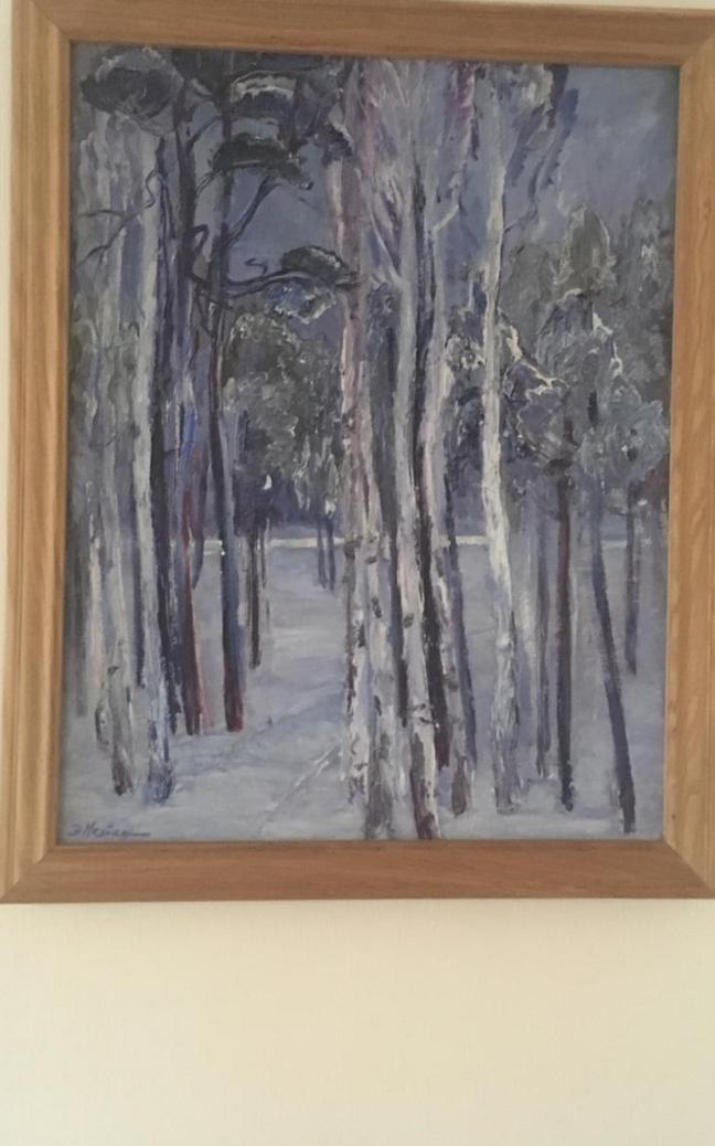 Ellaid Danilovna Neiman. Winter Tale