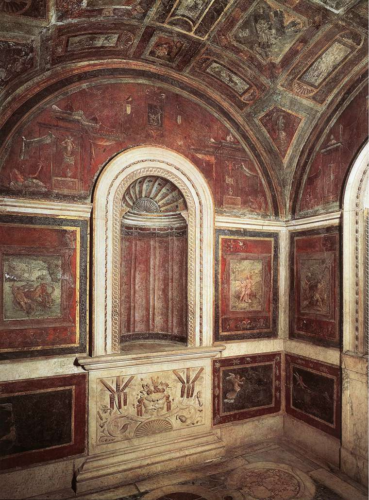 Рафаэль Санти. Роспись на подогревателе кардинала Бибиены